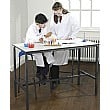Crush Bent H-Frame Science Lab Table