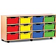 12 Cubby Tray Storage