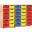 30 Cubby Tray Storage