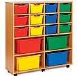 12 Cubby Tray Combination Storage