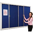 New Safety Locking Noticeboards