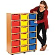 18 Cubby Tray Storage