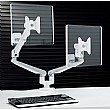 Ascend Gas Assisted Dual Monitor Mount