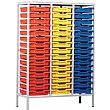 Monarch Static Triple Column 45 Tray Storage Unit
