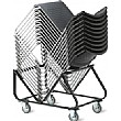 Verso Heavy Duty Visitor Chair Stacked