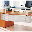 Callisto Executive Kidney Desk Curved Modesty Pane