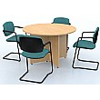 Sven X-Range Arrowhead Circular Meeting Table