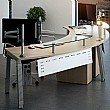 Elite Linnea Complete Executive Reception Desk Bundle