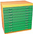 10 Drawer A1 Plan Storage Chest