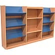 Nexus Combination Display Bookcases
