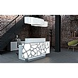 Minerals Duo Illuminated Reception Desk