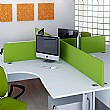 Elite Kassini Contract Rectangular Desktop Screens