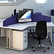 Elite Kassini Contract Curved Desktop Screens