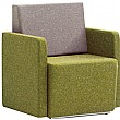 Pledge Fifteen Low Back 1 Seat Bench - Armchair