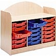 Stretton 18 Shallow Tray Designer Storage Unit