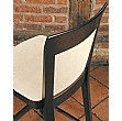 Lisbon Upholstered Wooden Dining Chair Detail