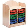 Stretton 12 Tray Double Bay Storage Unit