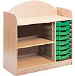 Stretton 8 Tray Storage Unit With Adjustable Shelv