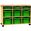 Funky Multi Tray Mobile Storage Unit