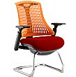 Flash Colours Cantilever Visitor Chair