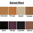 Stained Wood Colours