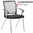 Grammar Office SAIL Textile Mesh Conference Chair