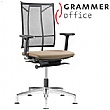 SAIL Mesh & Fabric Swivel Conference Chair