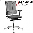 Grammer Office SAIL Leather & Mesh Swivel Conference Chair