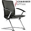 Grammer Office Tiger UP Medium Back Leather Conference Chair