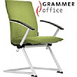 Grammer Office Tiger UP High Back Textile Mesh Conference Chair