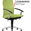 Grammer Office Tiger UP Medium Back Textile Mesh Swivel Conference Chair