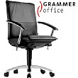 Grammer Office Tiger UP Medium Back Leather Task Chair