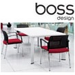 Boss Design Apollo Rectangular Meeting Table