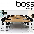 Boss Design Apollo Large Veneer Boardroom Table