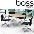 Boss Design Pegasus Oval Boardroom Table