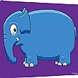 Pin Panelz Primary Graphics Elephant Noticeboard
