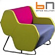 BN Hexa Standalone Visitor Chair