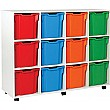 12 Tray Jumbo White Range Storage Unit