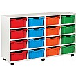 16 Deep Tray White Range Storage Unit