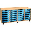 24 Shallow Tray 4 Store Range Storage Unit