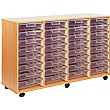 Crystal Clear 32 Shallow Tray Storage Unit