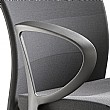 Grammer Office Extra Leather High Back Swivel Conference Chair With Neckrest