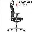 Grammer Office GLOBEline High Back Fabric Task Chair With Headrest
