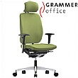 Grammer Office GLOBEline High Back Textile Mesh Task Chair With Headrest