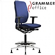 Grammer Office GLOBEline Ring Base High Back Fabric Reception Chair