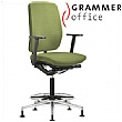 Grammer Office GLOBEline Ring Base High Back Textile Mesh Reception Chair
