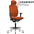 Grammer Office GLOBEline Ring Base High Back Microfibre Chair With Headrest