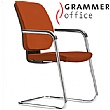 Grammer Office GLOBEline Microfibre Cantilever Side Chair