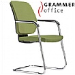 Grammer Office GLOBEline Textile Mesh Cantilever Side Chair