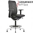 Grammer Office GLOBEline Ring Base High Back Mesh & Fabric Reception Chair